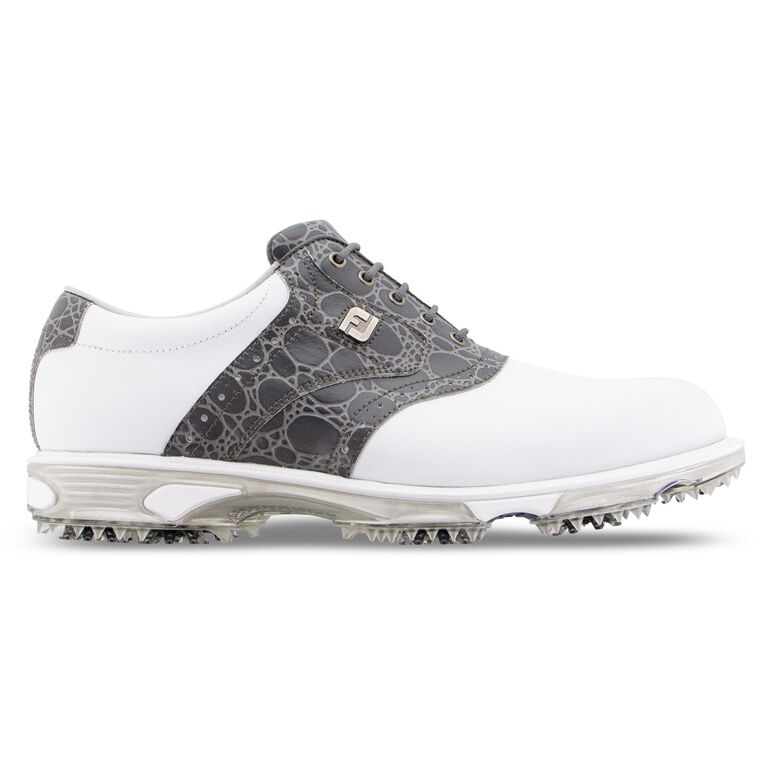 DryJoys Tour Limited Edition 30th Anniversary Men's Golf Shoe - White/Grey
