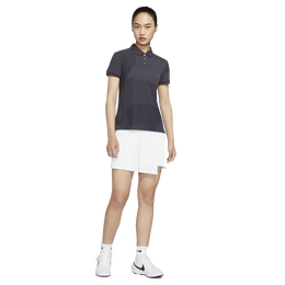 Dri-FIT UV Ace Women's Short Sleeve Dot Striped Golf Polo