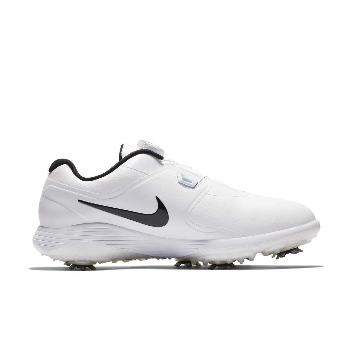 official photos 15a01 de1a7 Nike Vapor Pro BOA Mens Golf Shoe - WhiteBlackPGA TOUR Super