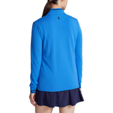 Alternate View 3 of Performance Tipped Jersey Quarter-Zip Pull Over