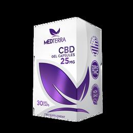25mg CBD Gel Capsules