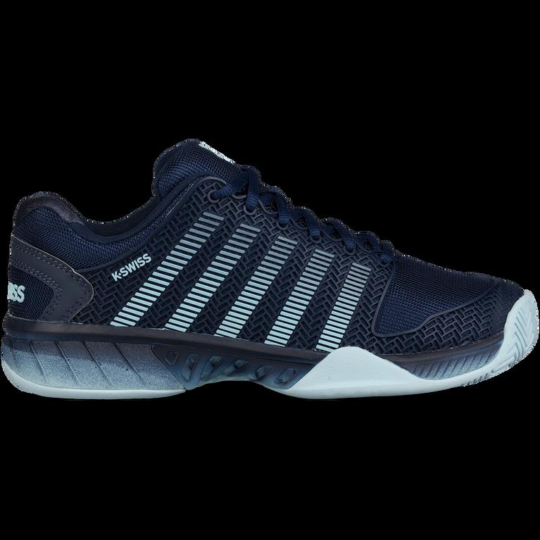 K-Swiss Hypercourt Express Men's Tennis Shoe - Black/Blue