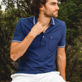 Alternate View 2 of Solid Pique Pocket Polo