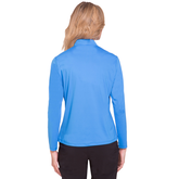 Alternate View 1 of Sunsense Quarter Zip Pull Over with Printed Zipper