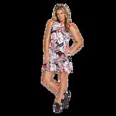 Alternate View 1 of Summer Sensation Collection: Robbie Leaf Print Pleated Hem Dress