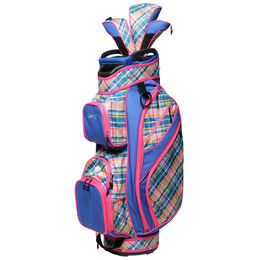 Plaid Sorbet Cart Bag