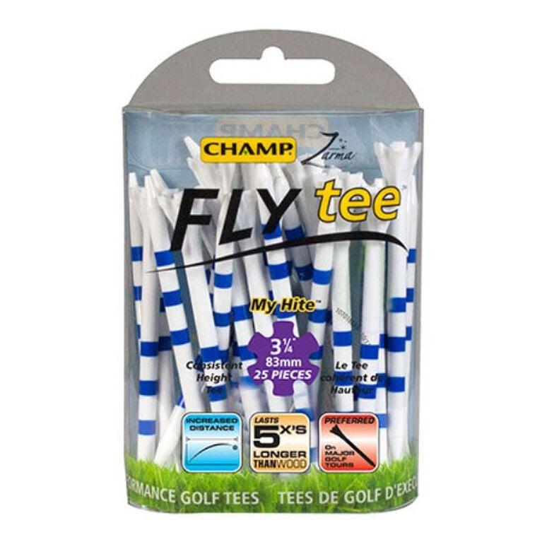 Champ Zarma FLY tee MyHite Tee 3.25 Inch - 25 Pack
