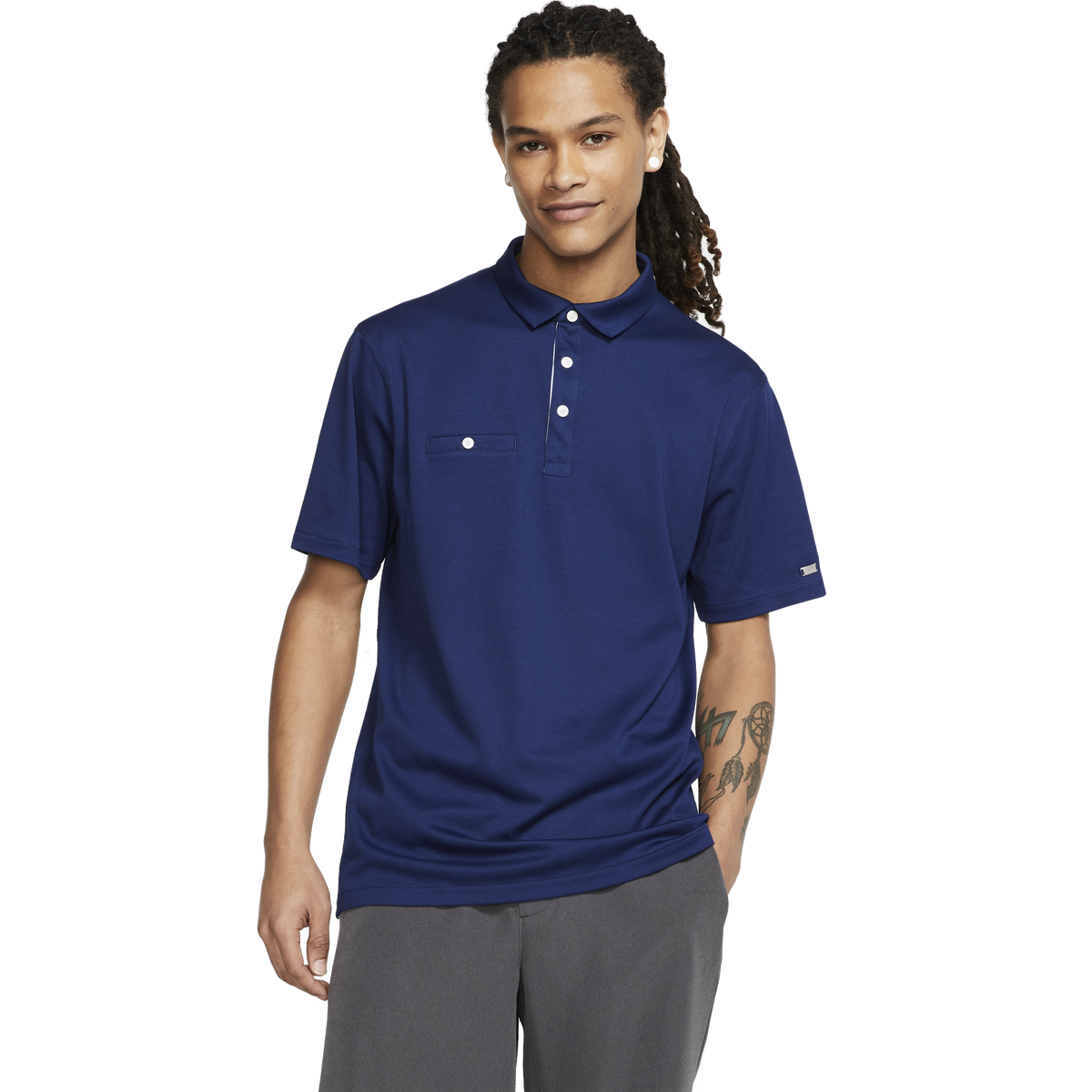 brand new 844db 5fc29 Images. Dri-FIT Player Pocket Solid Golf Polo