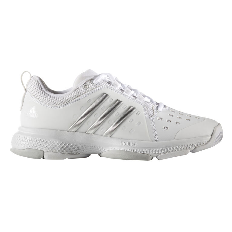 finest selection 2675d 77032 adidas Barricade Classic Bounce Women's Tennis Shoe - White/Silver