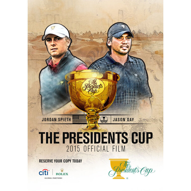 The Presidents Cup 2015 Official Film DVD