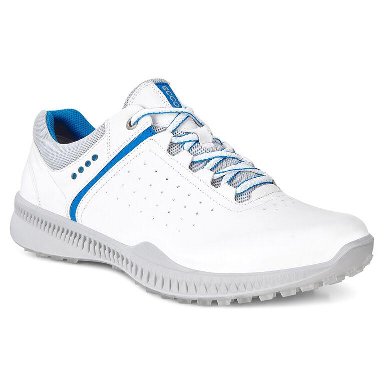 ECCO S-Drive Perf Men's Golf Shoe - White/Blue