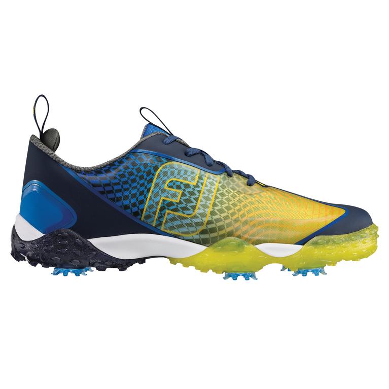FootJoy Freestyle 2.0 Men's Golf Shoe - Blue/Yellow