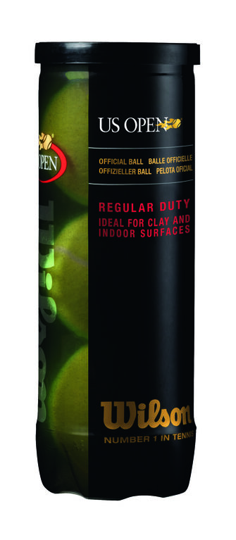 Wilson U.S. Open Tennis Balls - Regular Duty