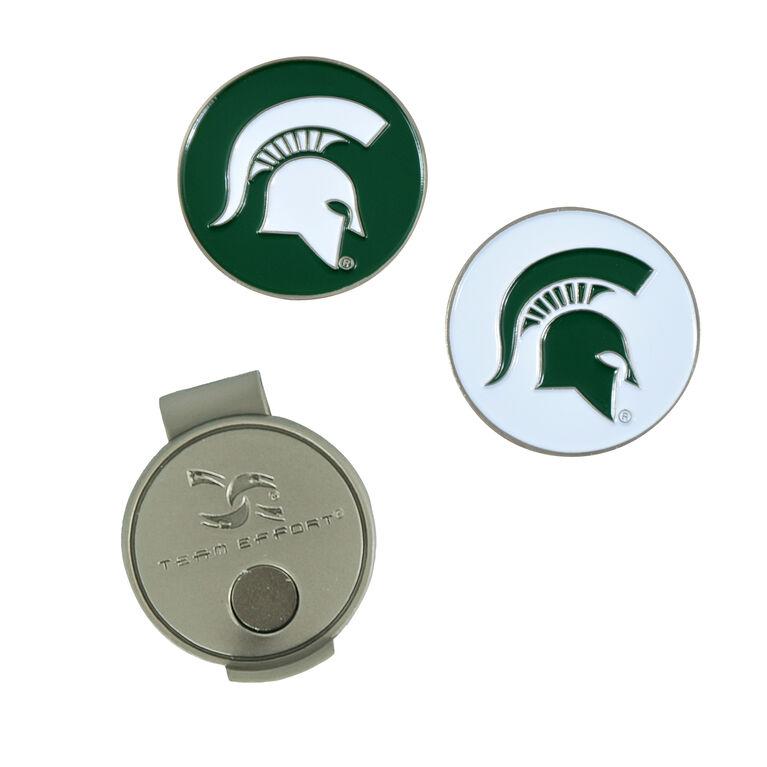 Team Effort Michigan State Spartans  Hat Clip