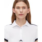 Alternate View 2 of Camille Short Sleeve Color Block Golf Polo