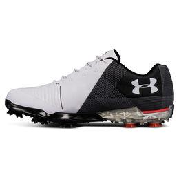 Under Armour Spieth 2 Men's Golf Shoe - White/Black