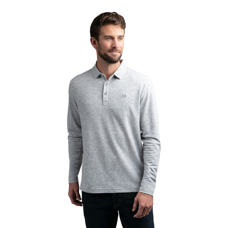 Fireside Long Sleeve Button Cuff Polo