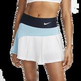 Alternate View 1 of NikeCourt Advantage Colorblock Pleated Tennis Skirt