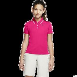 Dri-FIT Victory Girls' Short Sleeve Golf Polo