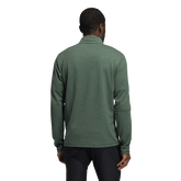 Alternate View 1 of 3-Stripes Quarter-Zip Pullover