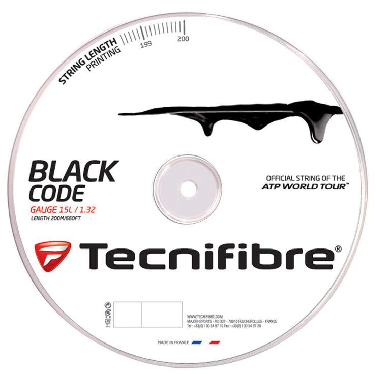 Tecnifibre Black Code 15L Gauge String Reel - Black