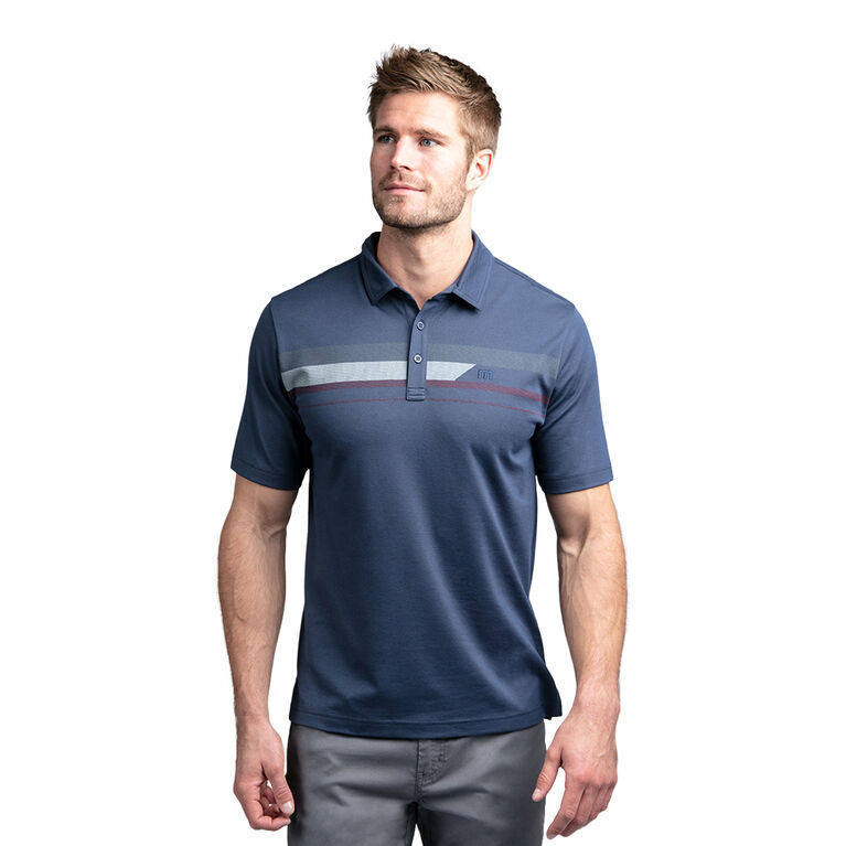 Nash Short Sleeve Chest Graphic Polo