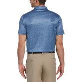 Alternate View 1 of Geo Swing Print Short Sleeve Golf Polo Shirt