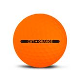 Alternate View 3 of Cut Matte Orange Golf Balls