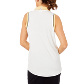 Alternate View 5 of Biltmore Collection: Sleeveless Piped Rib Trim Top