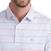 Vineyard Vines Swindell Stripe Sankaty Performance Polo