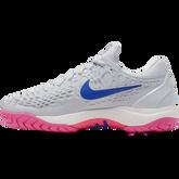 Alternate View 3 of Zoom Cage 3 Women's Tennis Shoe - Grey/Pink