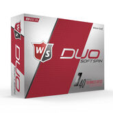 Alternate View 2 of Wilson Staff DUO Soft Spin Golf Balls - Personalized
