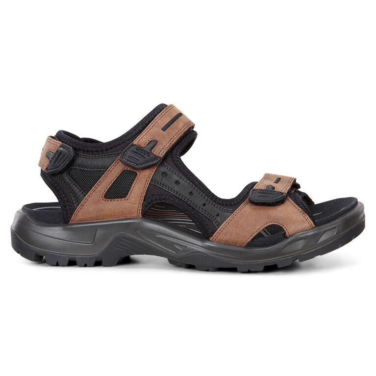 ECCO Yucatan Men's Sandal - Brown/Black