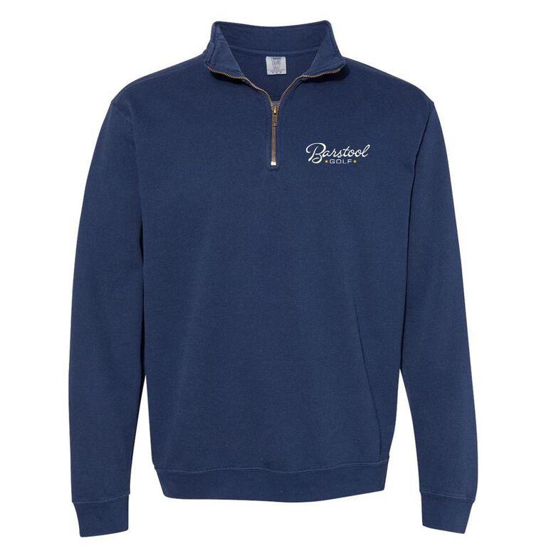 Barstool Golf Comfort Colors 1/4 Zip Pullover