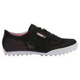 Monolite Cat Woven Women's Golf Shoe - Black/Pink