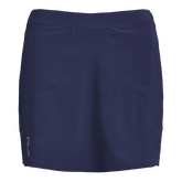 Alternate View 4 of Perforated Stretch Solid Golf Skort