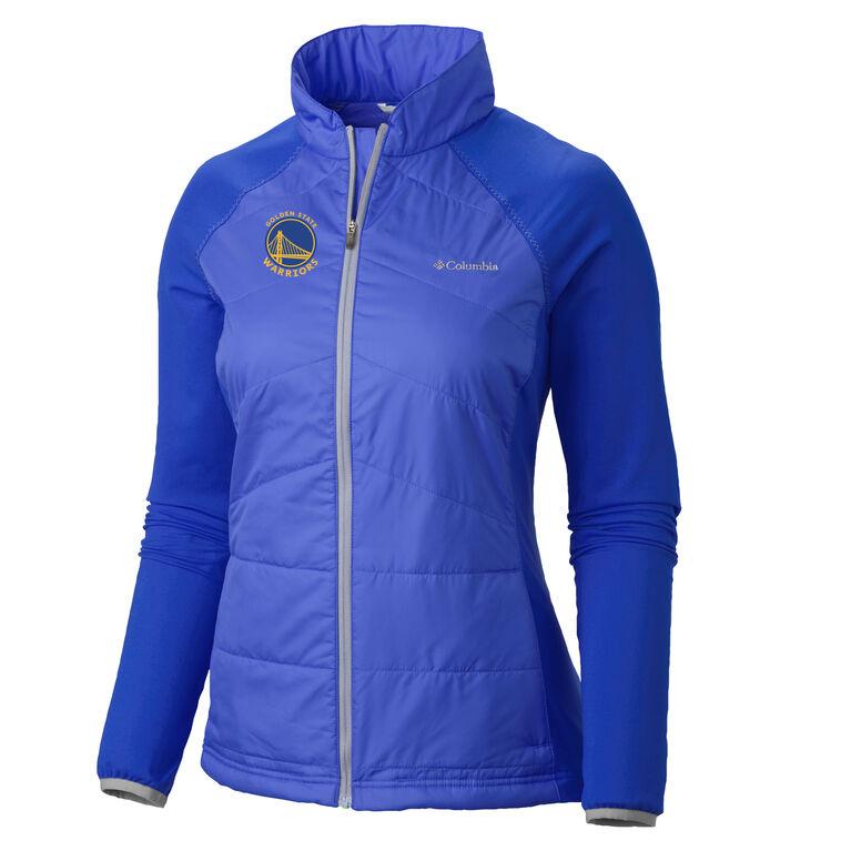 Golden State Warriors Full Zip Women's  Jacket