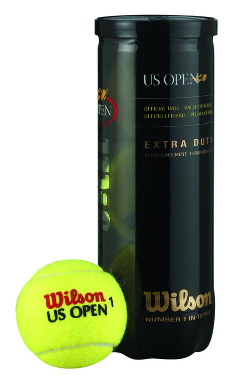 Wilson U.S. Open Tennis Balls - Extra Duty