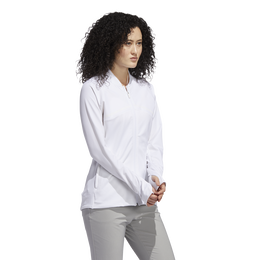 Long Sleeve Full Zip Textured Jacket