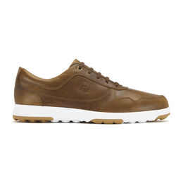 FootJoy Golf Casual Leather Men's Golf Shoe - Brown