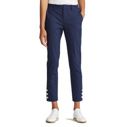 Coolmax Buttoned-Cuff Ankle Pant