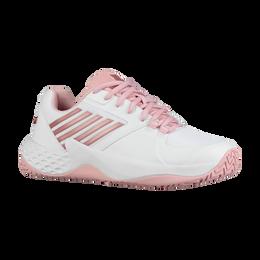 Aero Court Women's Tennis Shoe - White/Pink