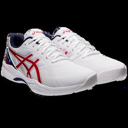 GEL-GAME 8 L.E. Men's Tennis Shoe - White/Red