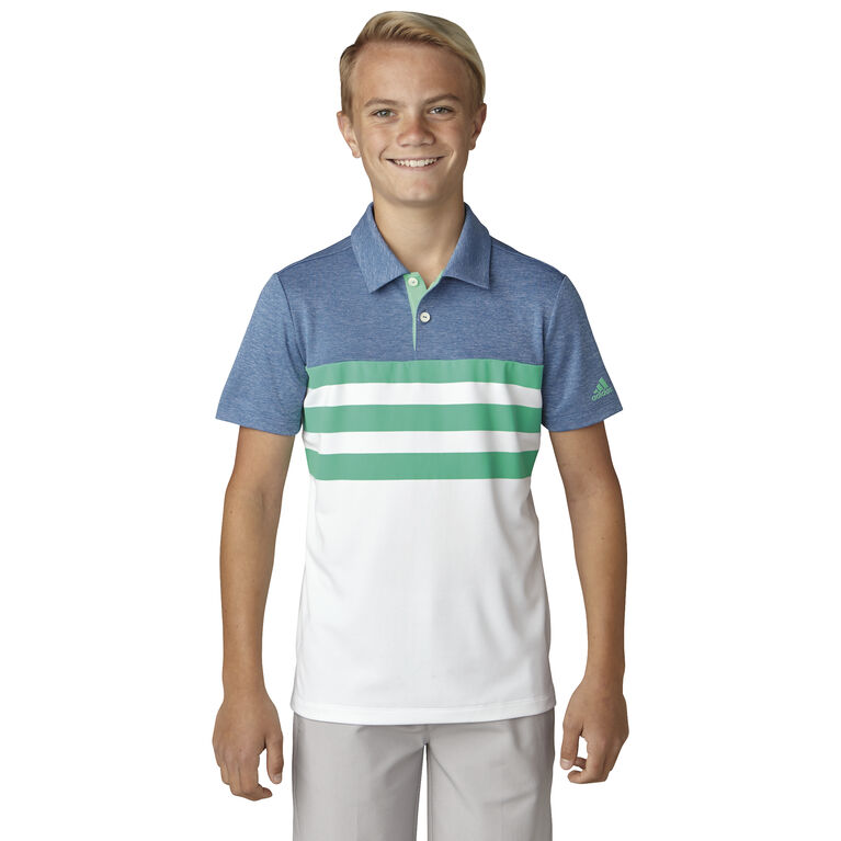 adidas Boys' 3-Stripe Polo