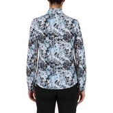 Alternate View 2 of Lady Floral Livcool Quarter Zip Pull Over