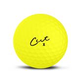 Alternate View 4 of Cut Matte Yellow Golf Balls