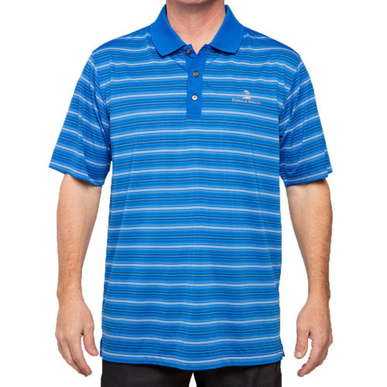 Pebble Beach Fineline Stripe Polo