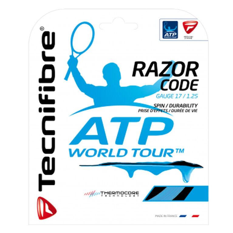 Tecnifibre ATP Razor Code 17 Gauge String Set - Carbon