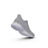 Alternate View 1 of Adidas Adizero Club K Juniors Tennis Shoe - Grey/Purple