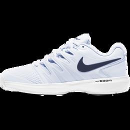 Air Zoom Prestige Women's Tennis Shoe - Grey/Navy